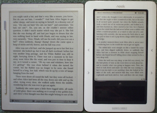 DR-800 vs Nook