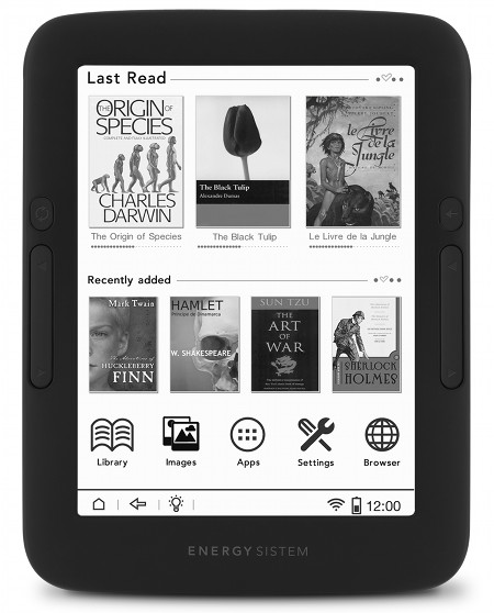 Energy eReader Pro Review