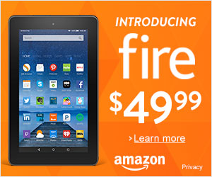 Fire Tablet at Amazon