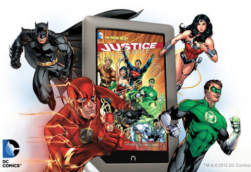 dc comics nook Digital Update: The New Tablet Scene for Comics