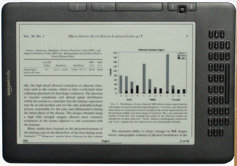 Kindle DX 2 Landscape