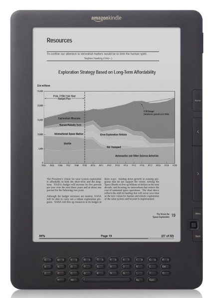 Updated: Amazon Kindle DX Review - DX2 Graphite