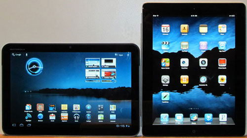 iPad 2 vs Motorola Xoom
