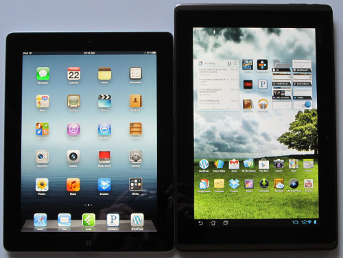 iPad 3 vs Asus Transformer