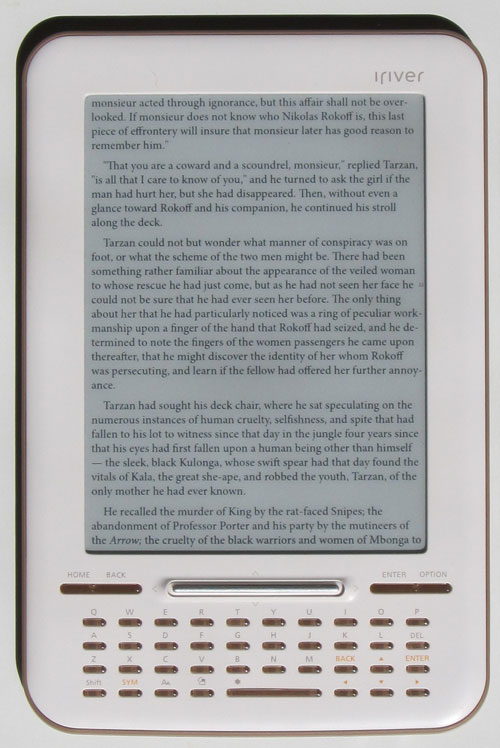 iriver story hd ebook reader review and how to s rh the ebook reader com iRiver H10 20GB iRiver H10 20GB