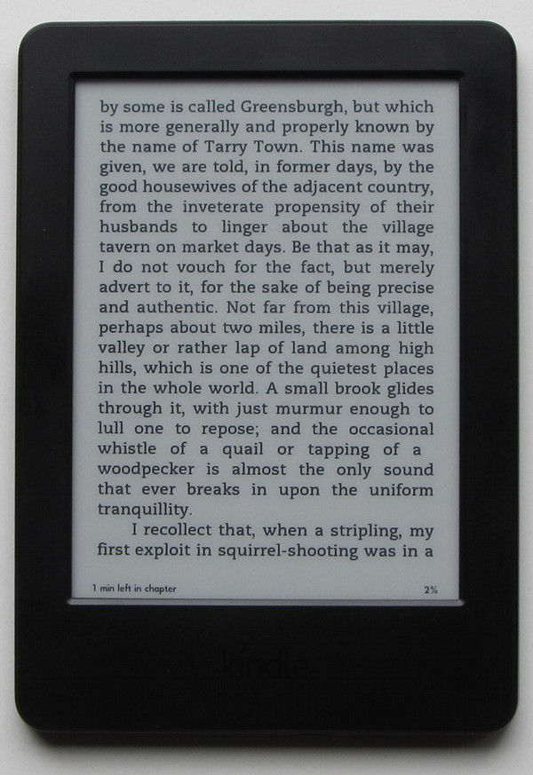 Kindle 7 2014 model review and walkthrough video kindle 2014 front fandeluxe Images