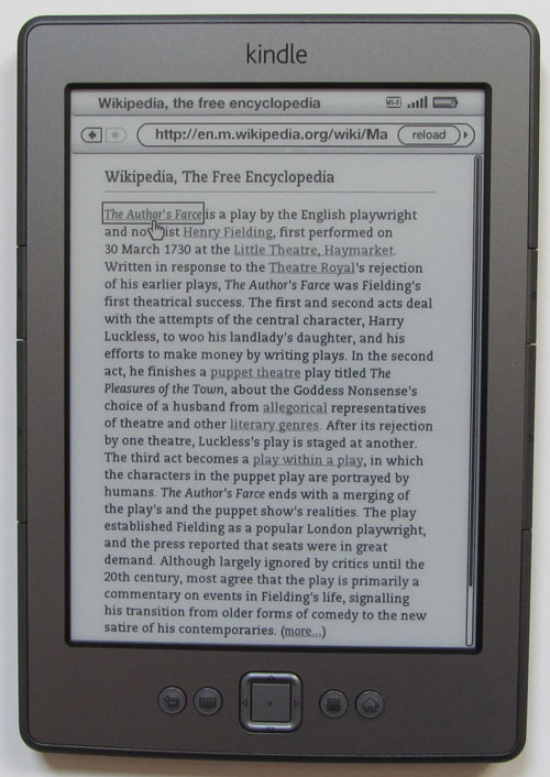 analyzing books on kindle hearth hdx