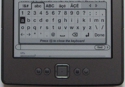Kindle 4 Keyboard