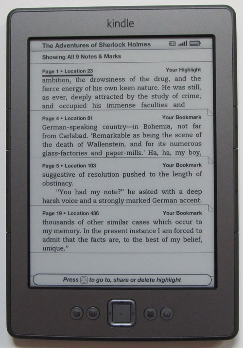 delete books from kindle