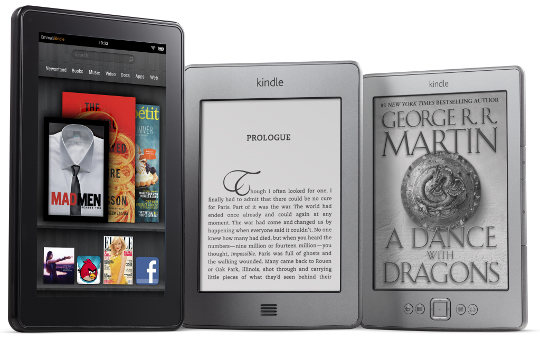 Amazon Kindle eReaders and Tablets