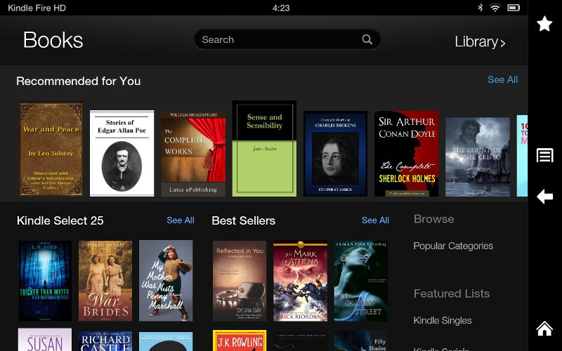 Kindle Fire HD Review and Video Walkthrough