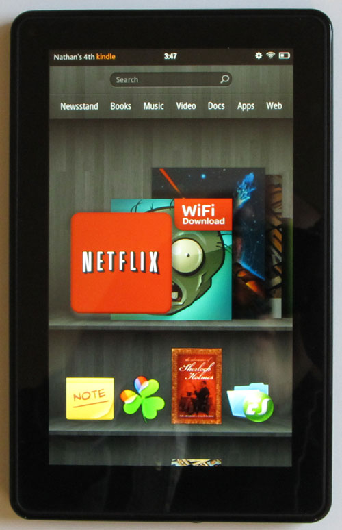 Kindle Fire Review: The Kindle Fire as an eReader