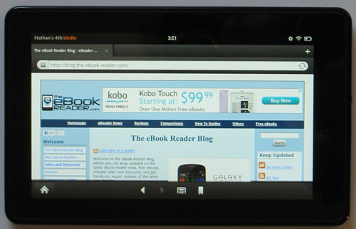 Seven Alternate Web Browsers for Kindle Fire