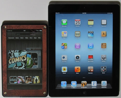 iPad 3 vs Kindle Fire
