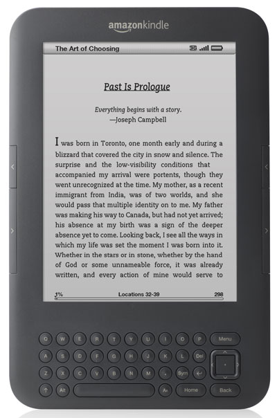 Kindle Wifi Review Compare Kindle 3