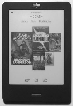 Kobo Touch Home