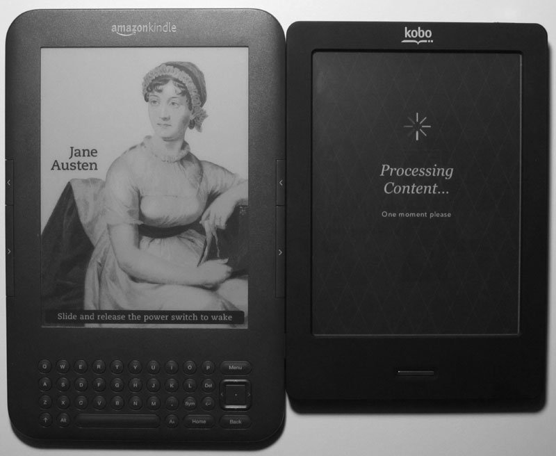 Kobo Touch Kindle 3