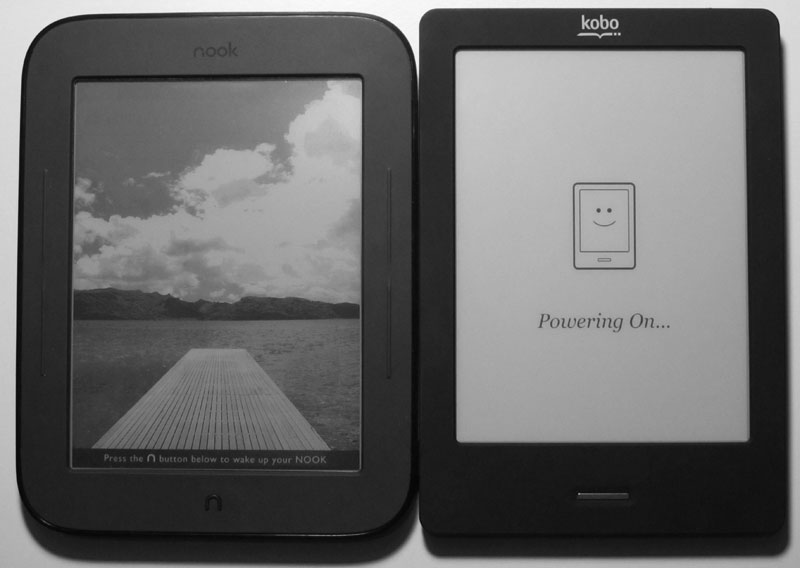 New Nook vs Kobo Touch