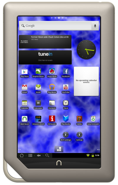 N2A Nook Tablet