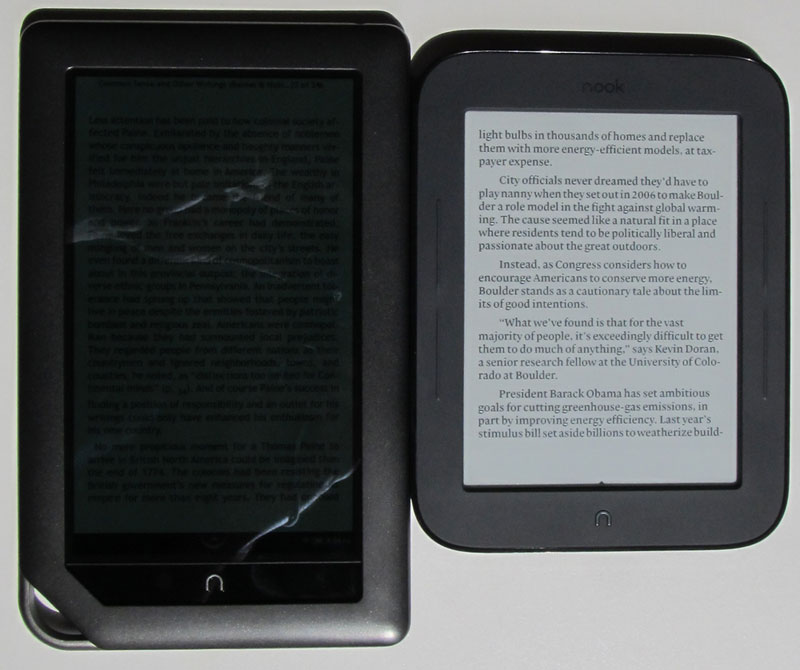 Nook Touch Review - Nook 2 Photo Gallery and Videos