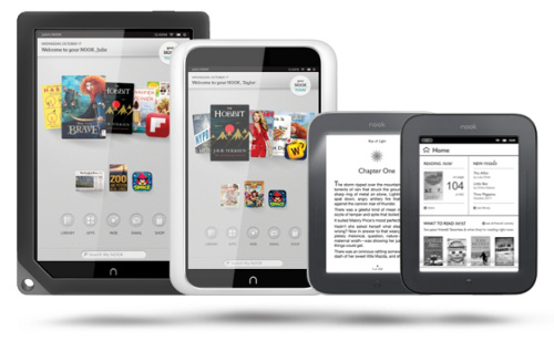 Nook Tablets and eBook Readers