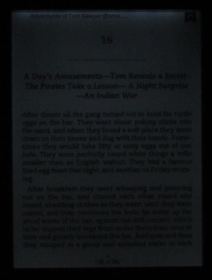 Nook Touch with GlowLight