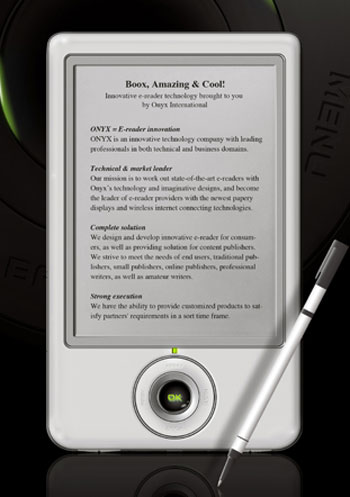 Onyx Boox 60 eBook Reader
