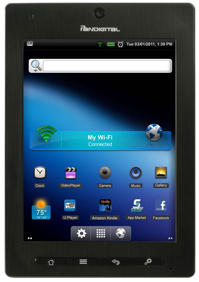 pandigital planet review with kindle and nook android apps rh the ebook reader com Pandigital Star Pandigital Novel