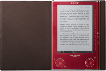 Sony Reader PRS-505 red