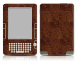 Kindle 2 Dark Burlwood Skin