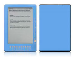 Kindle DX Blue Skin