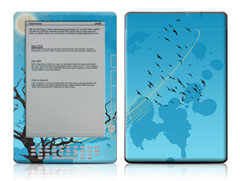 Kindle DX Winter Sky Skin