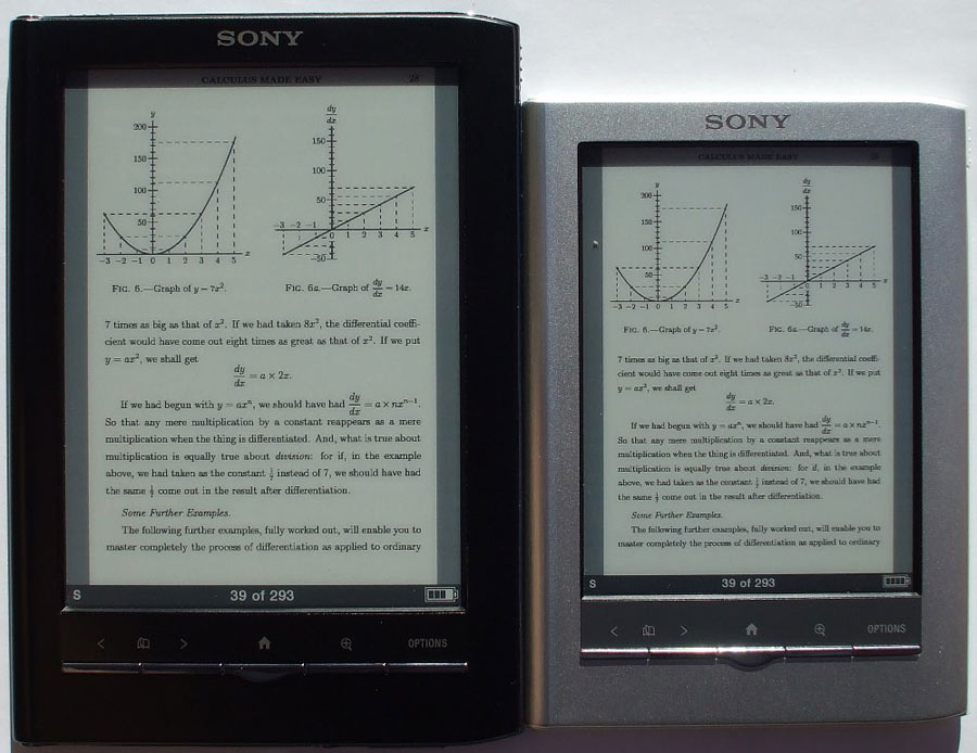 Sony PRS-650 Black Reader Touch Edition Digital Reader - PRS650BC