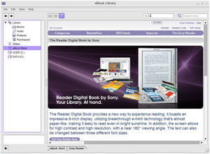 Ebook Library Sony