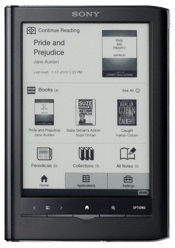 Kindle Vs Sony Reader: Sony PRS-650 Review