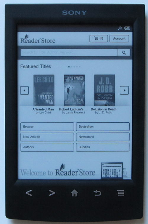 how to download books on ereader sony