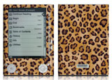 Sony Reader Skin Leopard