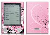 Sony Reader Skin Pink